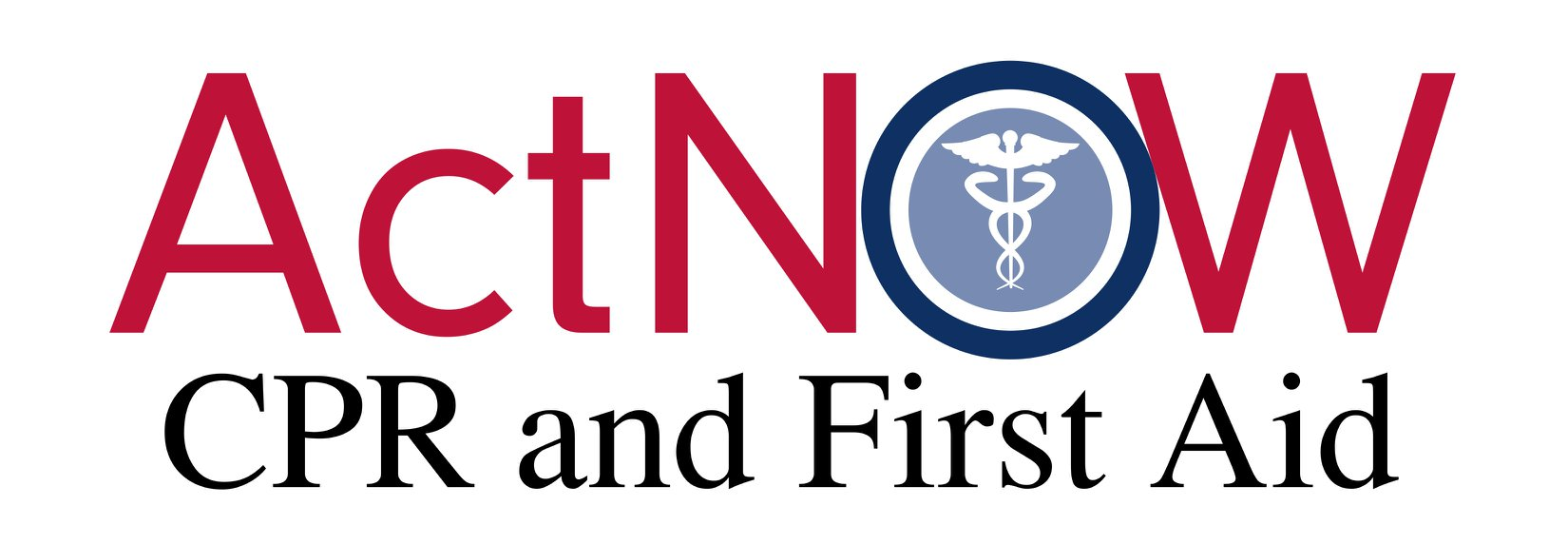 Act Now CPR and First Aid Logo with David Lamb