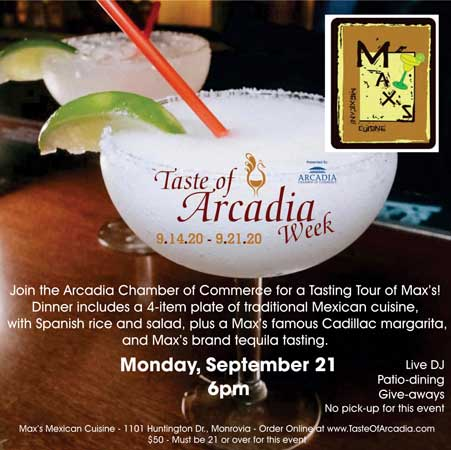 Max's Tequila Tasting flyer button