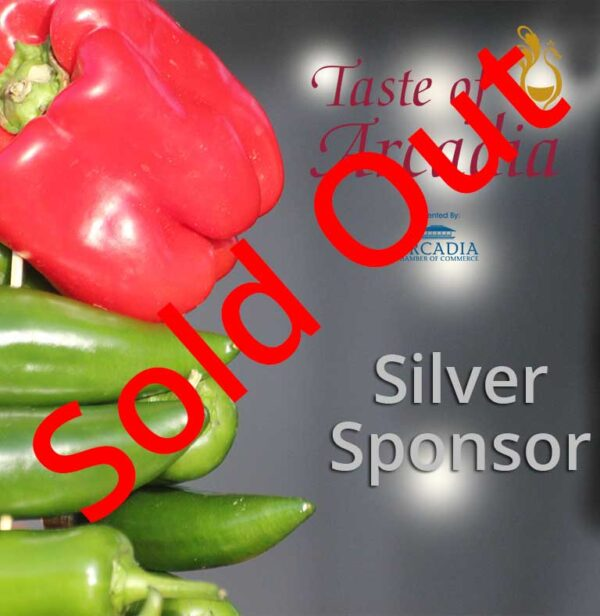 Silver Sponsor SOLD OUT